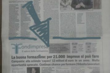 """Uno spazio periodico di OBR Campania  su """"Il Mattino"""""""