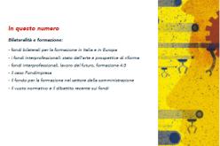 Su Professionalità Studi n.2/2017 contributi di  Bruno SCUOTTO, Presidente di Fondimpresa, e di Mario VITOLO, direttore dell'OBR Campania, con Massimo RESCE, ricercatore dell'INAPP