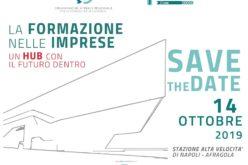 LA FORMAZIONE NELLE IMPRESE: UN HUB CON IL FUTURO DENTRO  –  14.10.2019 Meeting OBR Campania-Rete Fondimpresa in collaborazione con RFI e Centostazioni Retail