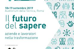 18 e 19 Settembre 2019 – Convegno per i 15 anni di Fondimpresa